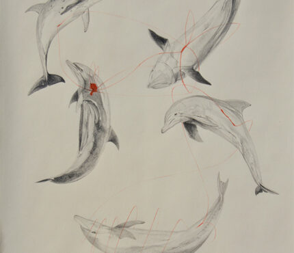 8--From-the-Will-the-waves-wash-it-all-away-series,-pencil-and-watercolor-pencil-on-paper,-42x29,7-cm,-2020