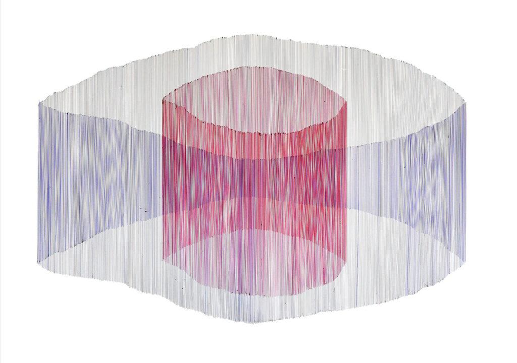 Homogenous-within-inhomogenous,-100x70-cm,-pen-on-paper